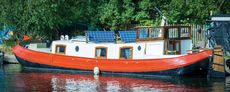 Dutch barge with or without mooring in Springfield marin London zone 2