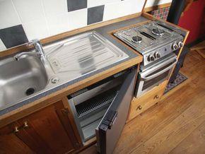Galley Fridge Oven