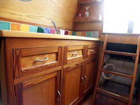 Galley cupboards