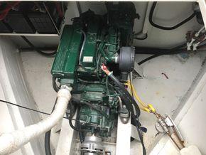 Four cylinder, keel cooled Beta 50hp engine