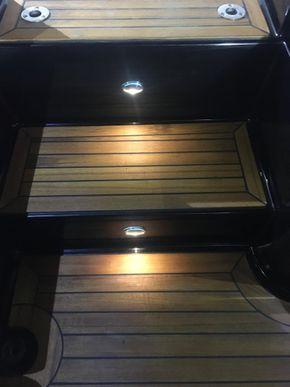 LED floor level lighting