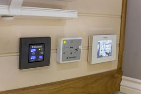 Toilet and underfloor heating controls