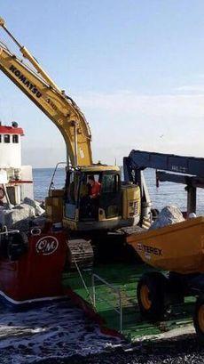 100 ton capacity Landing craft  workboat