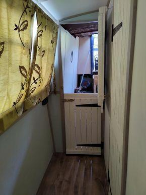 Door to engine room