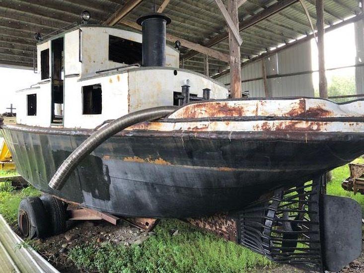 PROJECT BOAT - 1945 35' Russel Bros Alligator Boat