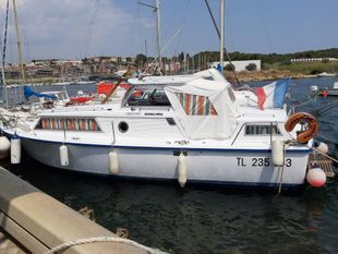 Amerglas 24 Liveaboard Cruiser South France