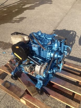 Lister LPW2 Marine Diesel Engine Breaking For Spares