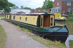 New 57ft Enhanced Square Cruiser Stern Narrowboat