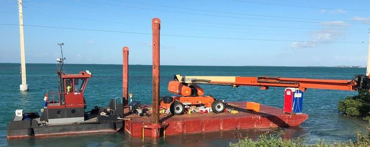 25′ x 14′ x 4′ Truckable Tug for Charter