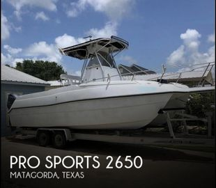 2000 Pro Sports 2650 Kat CC