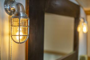 Antique bulkhead lights