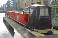 54ft Cruiser Stern Narrowboat