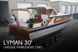 1969 Lyman 30' Express Cruiser