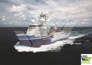 68m / 13,5knts Survey Vessel for Sale / #1072638