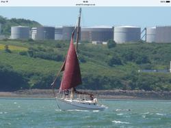 30ft steel drop keel cutter
