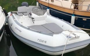 2016 MV Marine 18 TECH with TRAILER