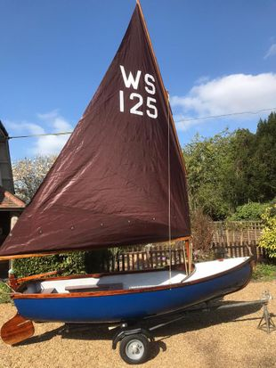 West Wight Scow fully refurbished