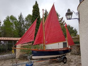 KITTIWAKE 14 CLASSIC DAY SAILER