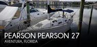 1989 Pearson 27