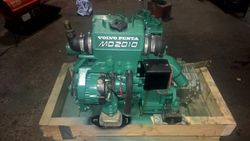 Volvo Penta MD2010D 10hp Marine Diesel Engine - ONLY 288 HRS From New!