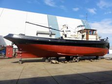 sturdy tug with rich history, fully equipped, spacious aft deck