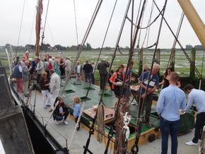 Crowd on Deck Bosham