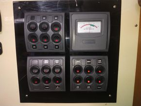 Main Switch panel/Fuse Board