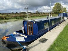 57ft Traditional Stern Narrow Boat - Liverpool Hull