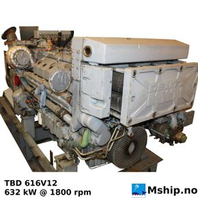 DEUTZ MWM TBD 616 V12