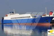 175m / 1960 lane meter RoRo Vessel for Sale / #319F