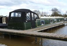 9ft wide Pioneer Canal Boat