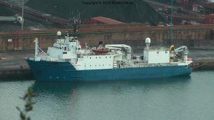238' Seismic Research Vessel