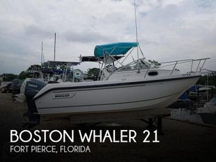 1998 Boston Whaler Conquest 21