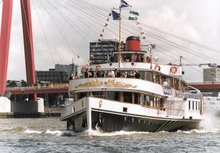 Passengerboat Steamboat Paddlesteamer