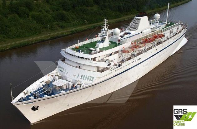 CHARTER FREE Nov 2020 // 160m / 580 pax Cruise Ship for Sale / #1002276