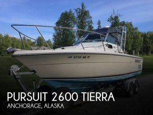 1985 Pursuit 2600 Tierra