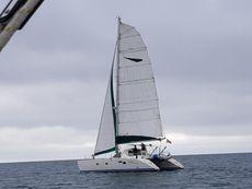 Lagoon 42 TPI Catamaran, Jeanneau design. True ocean going vessel.