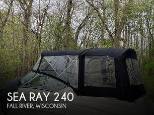 2013 Sea Ray 240 Sundancer