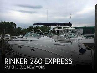2015 Rinker 260 Express