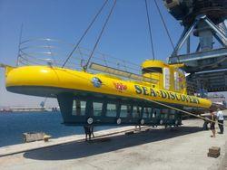TOURIST  SEMI-SUBMARINE 12,14 or 18m options