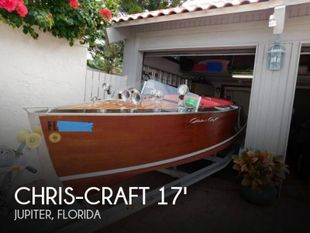 1939 Chris-Craft Runabout Speed boat