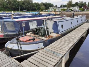 Enfield 55ft Trad built 1976 by Water Travel £31,995