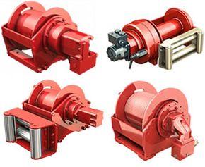 3 ton hydraulic mooring winch