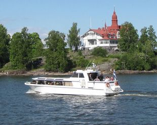 Aluminium passenger boat 28 knots