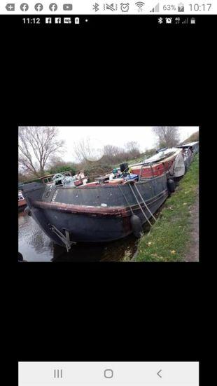Dutch barge boltjalk 1901 62ft