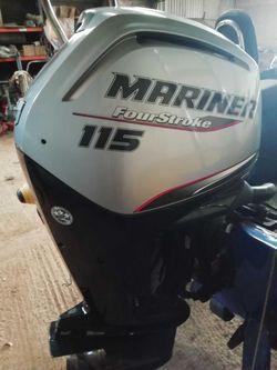 NEW MARINER F115 EFI CT HP 4 Stroke 5 Year Warranty