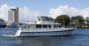 2001 Offshore Yachts Flushdeck