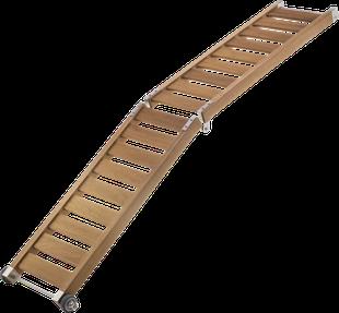 2 metre folding Wooden Passerelle.