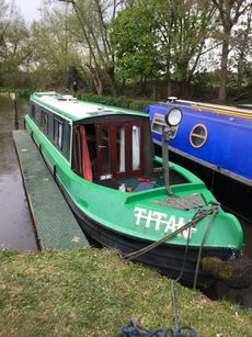 titan tug style narrowboat