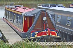 60ft Semi-Trad Stern Narrowboat
